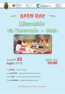 Open day Micronido comune di Scala